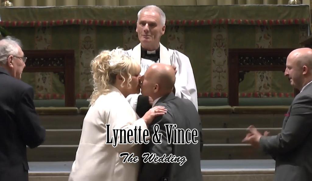 Lynn & Vince Wedding Thumbnail (The Kiss)